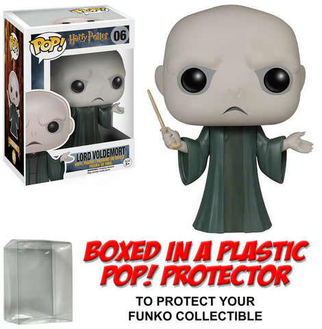 Funko POP! Movies ~ LORD VOLDEMORT VINYL FIGURE w/PROTECTOR CASE ~ Harry Potter