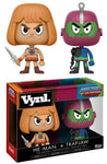 Funko VYNL ~ HE-MAN & TRAP JAW VINYL FIGURE SET ~ Masters of the Universe MOTU