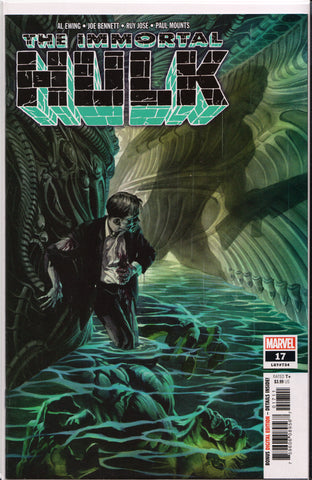 THE IMMORTAL HULK #17 COMIC BOOK ~ Marvel Comics