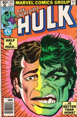 THE INCREDIBLE HULK #241 COMIC BOOK ~ Marvel Comics