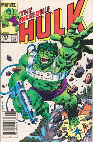 THE INCREDIBLE HULK #289 COMIC BOOK ~ Marvel Comics