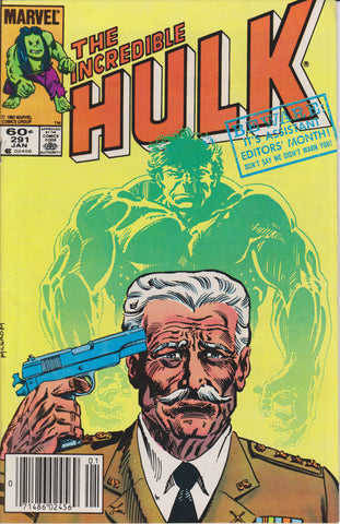 THE INCREDIBLE HULK #291 COMIC BOOK ~ Marvel Comics