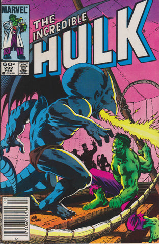 THE INCREDIBLE HULK #292 COMIC BOOK ~ Marvel Comics