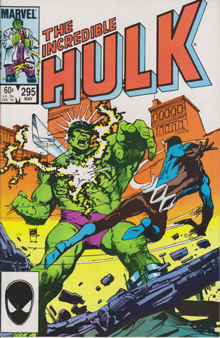 THE INCREDIBLE HULK #295 COMIC BOOK ~ Marvel Comics