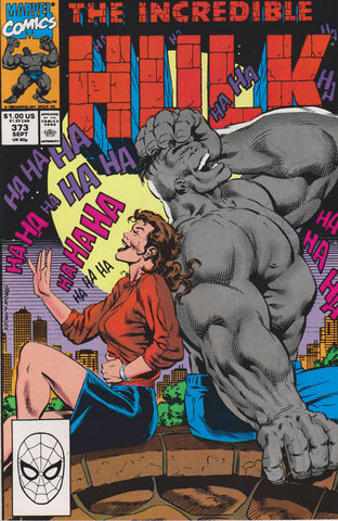 THE INCREDIBLE HULK #373 COMIC BOOK ~ Marvel Comics