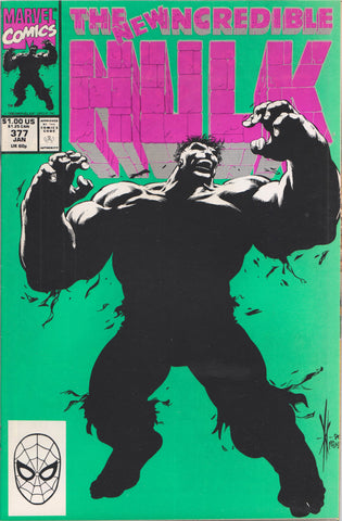 THE INCREDIBLE HULK #377 COMIC BOOK ~ Marvel Comics