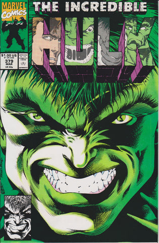 THE INCREDIBLE HULK #379 COMIC BOOK ~ Marvel Comics