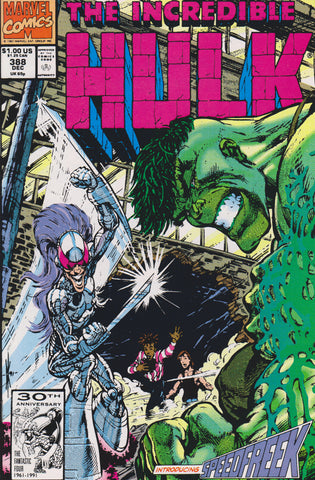 THE INCREDIBLE HULK #388 COMIC BOOK ~ Marvel Comics