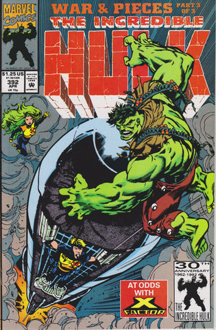 THE INCREDIBLE HULK #392 COMIC BOOK ~ Marvel Comics