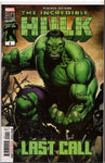 HULK: LAST CALL #1 COMIC BOOK ~ Marvel Comics