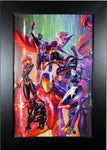 CIVIL WAR II by J. Scott Campbell ~ FRAMED ART ~ (Print/Poster)