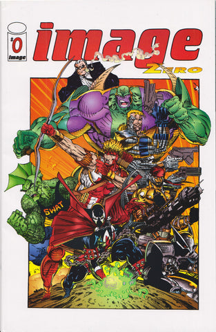 IMAGE COMICS #0 (LIEFELD/JIM LEE/TODD MCFARLANE) COMIC BOOK ~ Image Comics