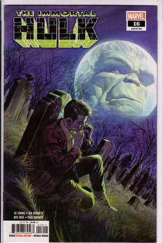 THE IMMORTAL HULK #16 COMIC BOOK ~ Marvel Comics