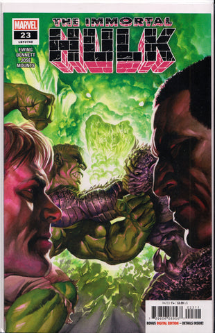 THE IMMORTAL HULK #23 (ALEX ROSS VARIANT) COMIC BOOK ~ Marvel Comics