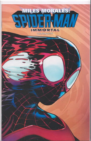 MILES MORALES: SPIDER-MAN #10 (IMMORTAL VARIANT) COMIC BOOK ~ Marvel Comics