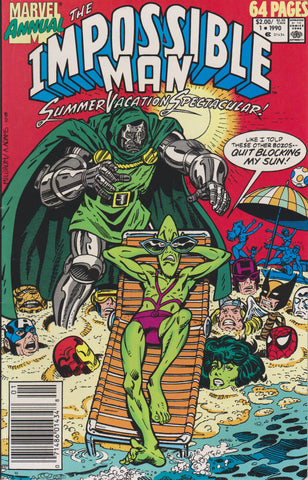 THE IMPOSSIBLE MAN SUMMER VACATION SPECTACULAR #1 ~ Marvel Comics