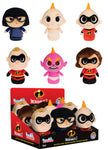 The Incredibles 2 ~ THE INCREDIBLES PLUSHIES SERIES 1 SET ~ Funko