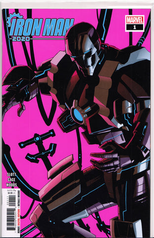 IRON MAN 2020 #1 (1ST PRINT) COMIC BOOK ~ Marvel Comics