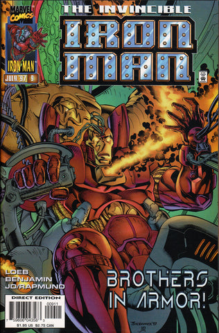 IRON MAN #9 (VOL. 2) COMIC BOOK ~ Ryan Benjamin Art ~ Marvel Comics