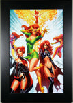 JEAN GREY, PHOENIX+++ by J. Scott Campbell ~ FRAMED ART ~ 8X12 - (Print/Poster)