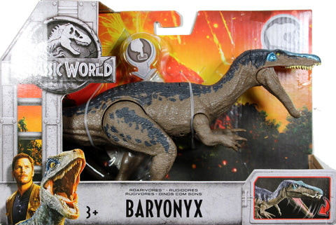 Jurassic World ~ ROARIVORES BARYONYX ACTION FIGURE ~ Fallen Kingdom