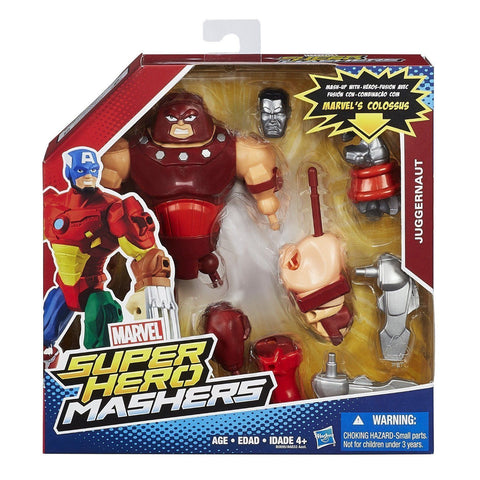 Marvel Super Hero Mashers ~ JUGGERNAUT CUSTOMIZABLE ACTION FIGURE ~ HASBRO
