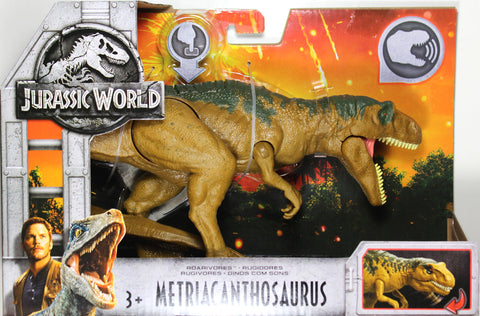 Jurassic World ~ ROARIVORES METRIACANTHOSAURUS ACTION FIGURE ~ Fallen Kingdom