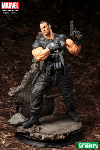 Marvel Universe ~ THE PUNISHER FINE ART STATUE (COMIC VERSION) ~ Koto Kotobukiya