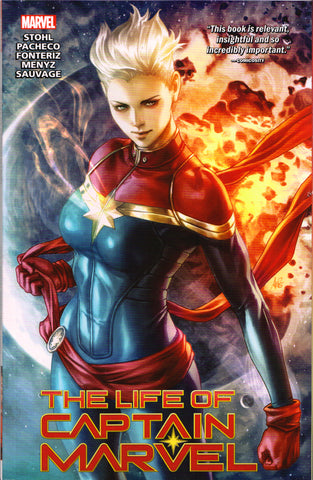 LIFE OF CAPTAIN MARVEL TPB (STANLEY LAU VARIANT) ~ Marvel Comics