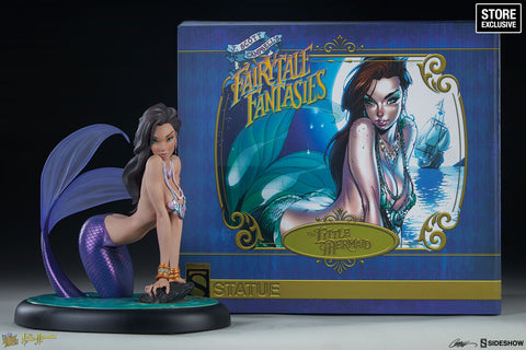 LITTLE MERMAID STATUE PURPLE EXCLUSIVE ~ J. Scott Campbell's Fairytale Fantasies