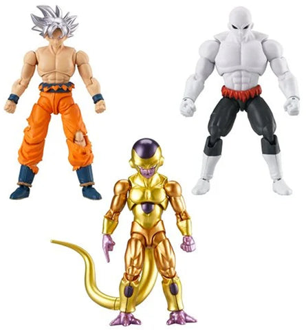 Dragonball Evolve ~ JIREN, ULTRA INSTINCT GOKU & GOLDEN FRIEZA ~ SERIES 2 SET