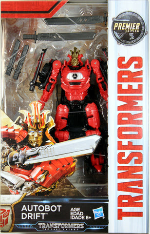 Transformers: Last Knight ~ AUTOBOT DRIFT ACTION FIGURE ~ Deluxe Class