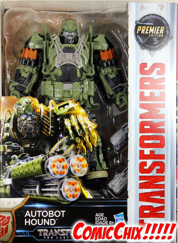 Transformers: Last Knight ~ Autobot HOUND ACTION FIGURE ~ Voyager Class