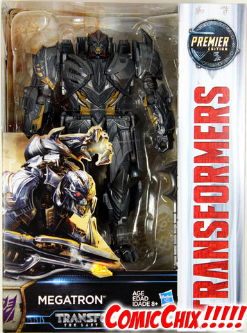 Transformers: Last Knight ~ Decepticon MEGATRON ACTION FIGURE ~ Voyager Class