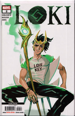 LOKI #2 (2ND PRINT BABS TARR VARIANT) COMIC BOOK ~ Marvel Comics