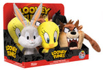 Funko Plushies ~ LOONEY TUNES SUPERCUTE PLUSHIES SERIES 1 RETAIL CASE w/DISPLAY