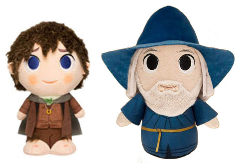 Funko Plushies ~ GANDALF & FRODO SUPERCUTE PLUSHIES SET ~ Lord of the Rings