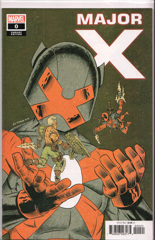 MAJOR X #0 (1ST PRINT)(ED PISKOR VARIANT) COMIC BOOK ~ Rob Liefeld ~ Marvel Comics