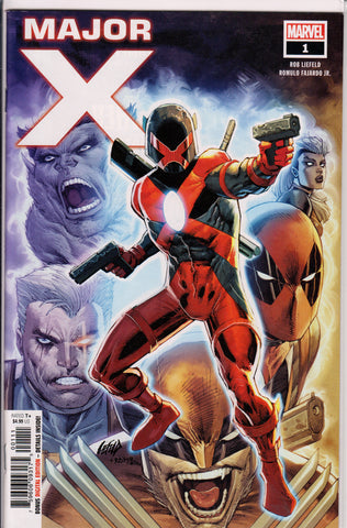 MAJOR X #1 (1ST PRINT) COMIC BOOK ~ Rob Liefeld ~ Marvel Comics