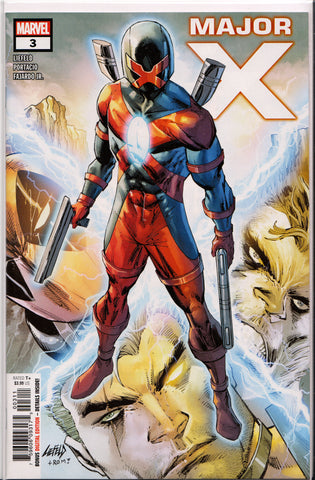 MAJOR X #3 (1ST PRINT) COMIC BOOK ~ Rob Liefeld ~ Marvel Comics