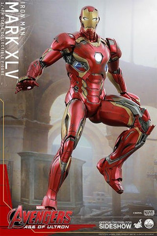 Hot Toys ~ IRON MAN MARK 45 ~ 1/4 SCALE ACTION FIGURE ~ Age of Ultron QS006