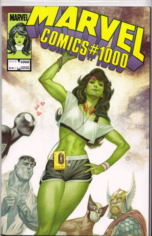 MARVEL COMICS #1000 (TEDESCO VARIANT) COMIC BOOK ~ Marvel Comics