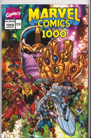MARVEL COMICS #1000 (RON LIM VARIANT) COMIC BOOK ~ Marvel Comics