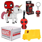 Marvel Collector Corps ~ DEADPOOL ON UNICORN +++  JULY 2018 BOX w/FUNKO POP!