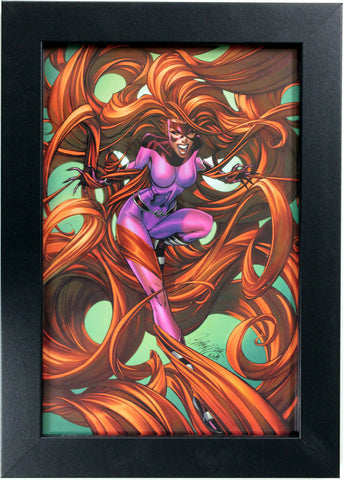 MEDUSA (INHUMANS) by J. Scott Campbell ~ FRAMED ART ~ (Print/Poster)