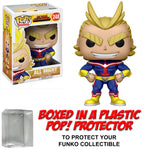 Funko POP! Animation ~ ALL MIGHT (#248) VINYL FIGURE w/Protector Case ~ My Hero Academia MHA