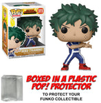 Funko POP! Animation ~ DEKU (TRAINING)(#373) VINYL FIGURE w/Protector Case ~ My Hero Academia MHA