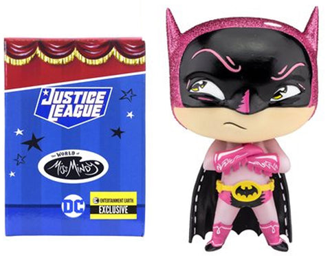 DC Comics / The World of Miss Mindy ~ 4-INCH PINK BATMAN FIGURE ~ Enesco