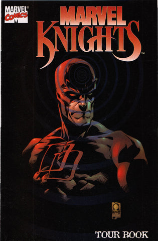 MARVEL KNIGHTS TOUR BOOK PROMO COMIC BOOK ~ Marvel Comics