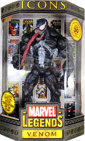 "Marvel Legends Icons ~ 12"" VENOM (MASKED) ACTION FIGURE (2006) ~ Toy Biz"